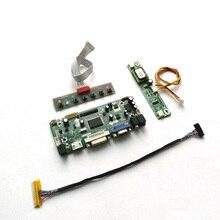 """Para HT185WX1 100/500/501 m. nt68676 cartão de unidade controlador de exibição ccfl lvds 30pin 18.5 """"1366*768 lcd painel hdmi + vga dvi kit diy"""