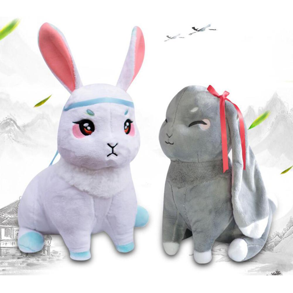 Mo Dao Zu Shi Grandmaster of Demonic Cultivation Wangji Wuxian Rabbit Plush Doll