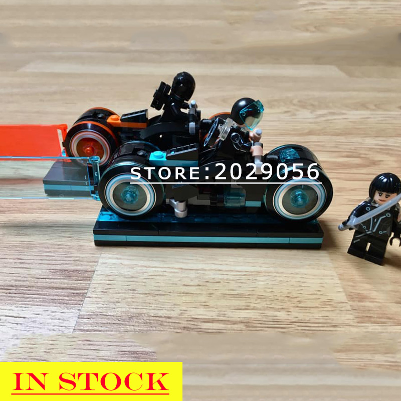 21314 In stock Ideas The TRON Building Blocks 248pcs Creator Toys Bricks Compatible with 10881 Educational Toys Gifts