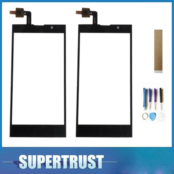 For Inew V3 Touch Screen Digitizer Glass Black Color With Tape Tools