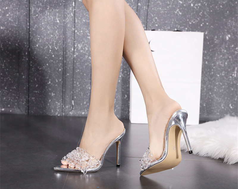 Sandália Cristal Elegante