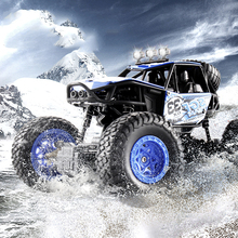 цена на 4-channel crash off-road vehicle charging remote control climbing car large electric toy car model children remote control toy