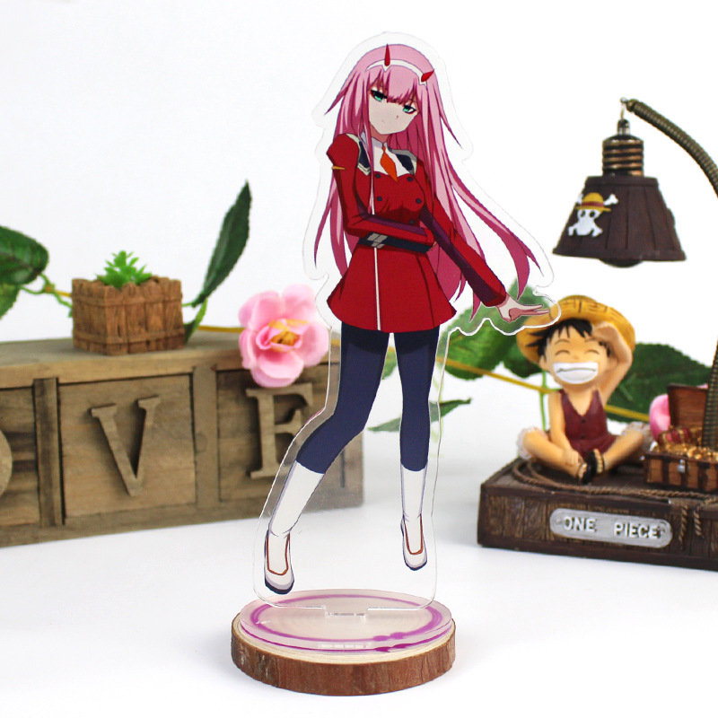 DARLING In The FRANXX Acrylic Stand Model Toys ZERO TWO 002 Anime Acrylic Stand Figure Decoration Toys Cosplay Action Figure DIY