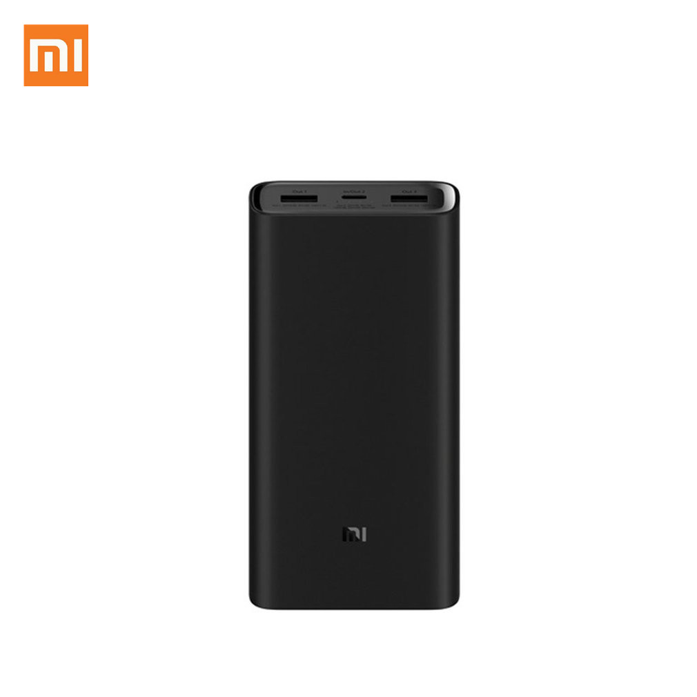 20000mah Xiaomi Mi <font><b>Power</b></font> <font><b>Bank</b></font> 3 pro PLM07ZM 3 usb TYPE C 45w FAST Charging Portable powerbank <font><b>20000</b></font> External Battery Poverbank image