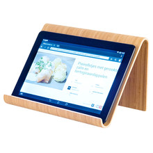 Alta calidad de madera maciza Tablet soporte de escritorio Portable para IPad Air(China)