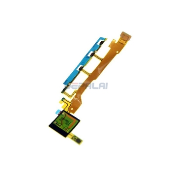 For Sony Xperia Z L36H L36 LT36 C6602 C6603 Power Button Flex Cable With Microphone Ribbon image