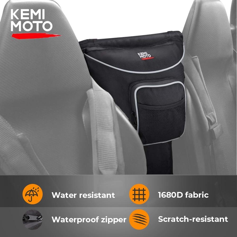 KEMiMOTO UTV Hanging Bag Cab Pack Holder Storage Bag For Polaris Ranger RANGER RZR 4 800 RZR 570 800 1000 RZR XP 4 900 RZR XP