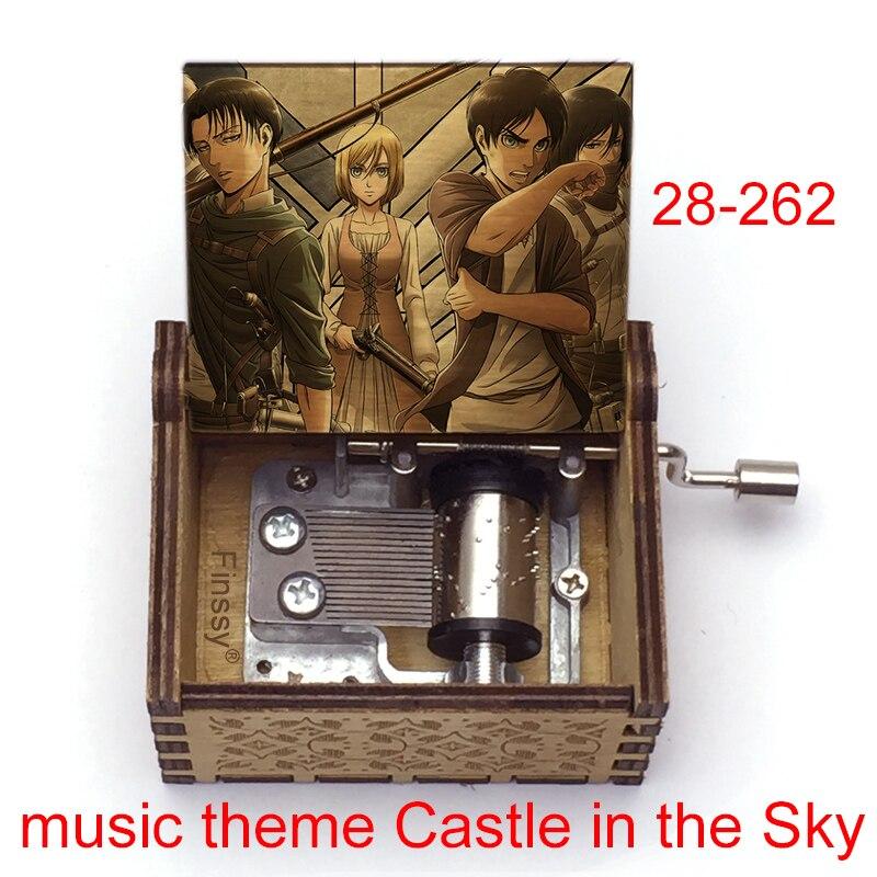 Музыкальная шкатулка для фанатов аниме «атракция Титанов»
