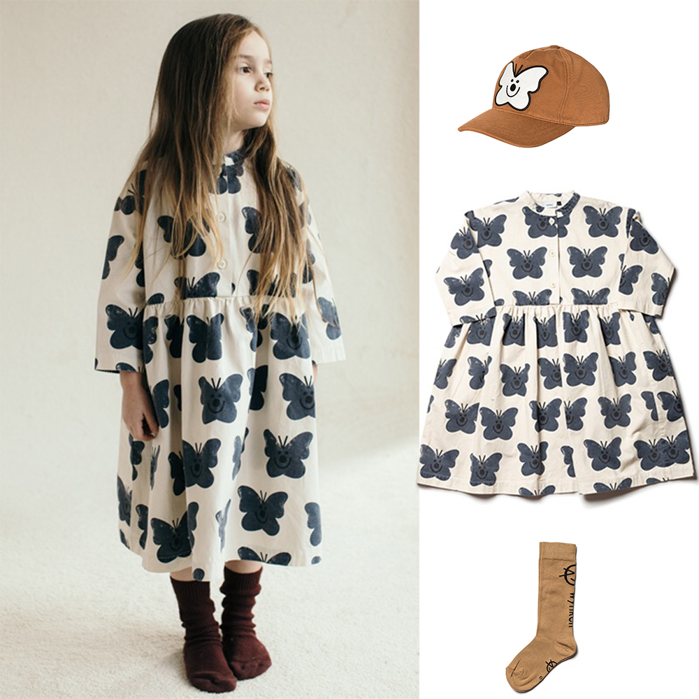Kids Clothes Set 2021 Wynken New Autumn Winter Boys Girls Dresses T-shirts Flower Print Sweatshirts Baby Pants Fashion Outwear 6