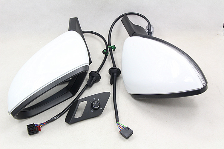 BODENLA автоматическое складное зеркало электрическое складное боковое зеркало с Чехол для очков переключатель для VW Golf 7 MK7 7,5