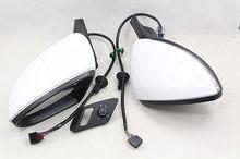 Bodenla dobra automática espelho lateral dobrável elétrico com óculos interruptor de cobertura para vw golf 7 mk7 7.5
