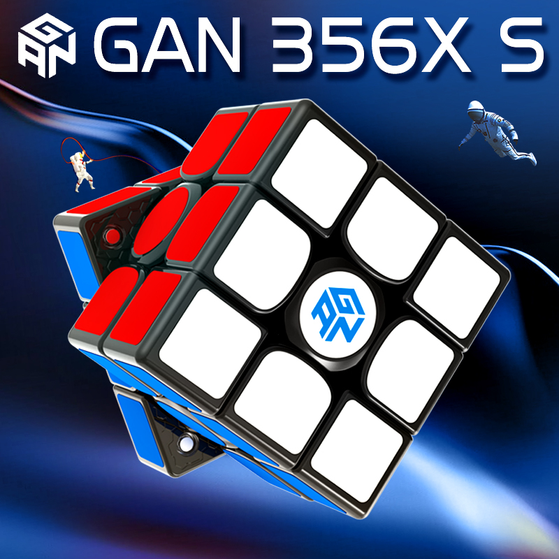 GAN356 X S Magnetic Speed Cube 3x3 Professional Stickerless Magic Puzzle Cubes GAN356X 3x3x3 Magnets Cubo Magico Gan 356 X