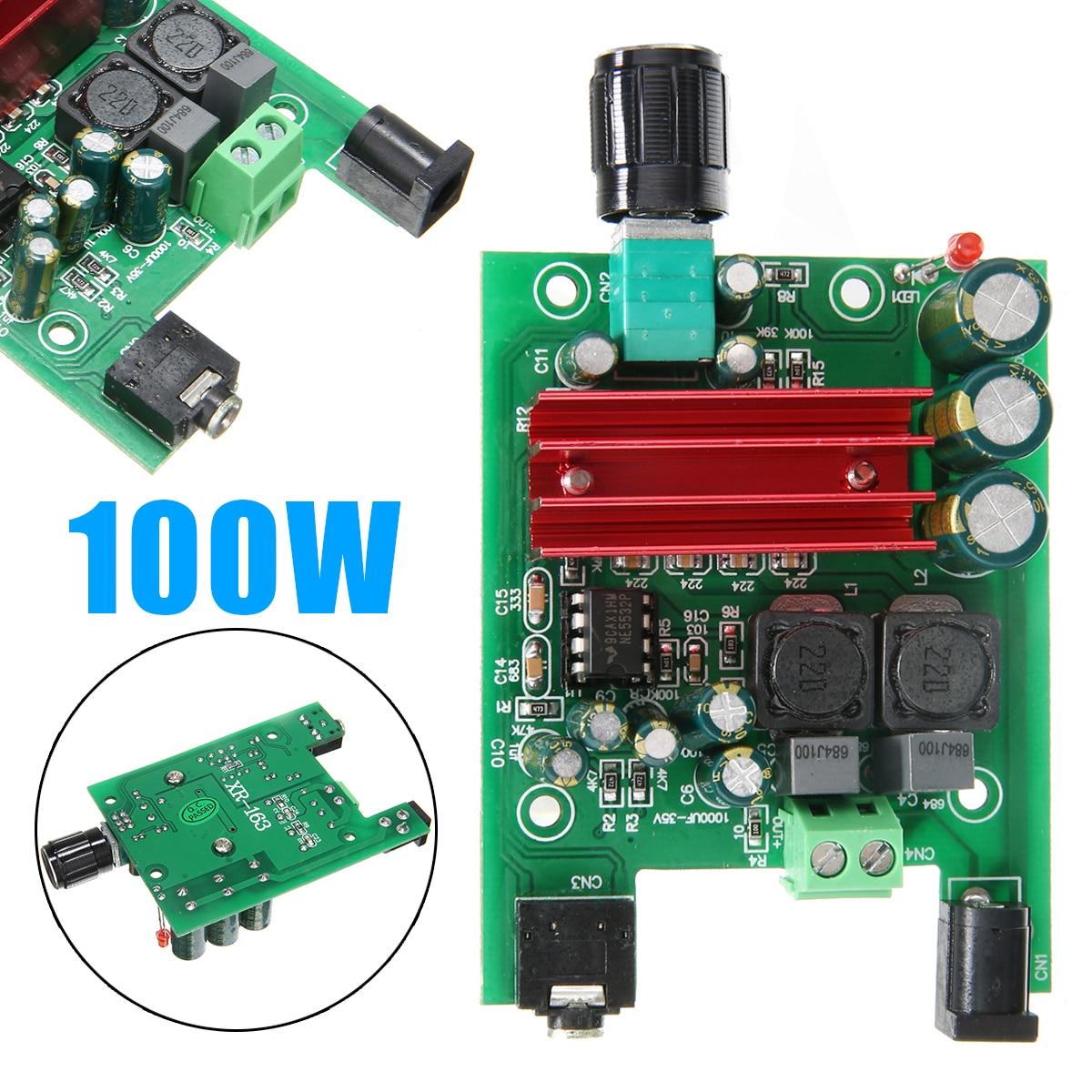 Newest 8-25V Digital Power Amplifier Boards Subwoofer Audio Module 100W+ 50W Dual-channel AMP Board For TPA3116D2