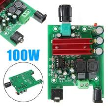 Newest 8-25V Digital Power Amplifier Boards Subwoofer Audio Module 100W+ 50W Dual-channel AMP Board For TPA3116D2 2pcs mx50 se power amplifier kit dual 2 0 channel power amp kit 100w 100w