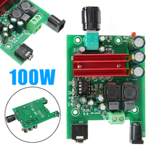 лучшая цена Newest 8-25V Digital Power Amplifier Boards Subwoofer Audio Module 100W+ 50W Dual-channel AMP Board For TPA3116D2