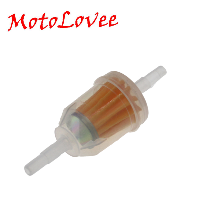MotoLovee Universal Large Gasoline Filter Cup Motorcycle Petrol Gas Fuel Oil Filter For Moped Scooter Dirt Bike ATV Go Kart