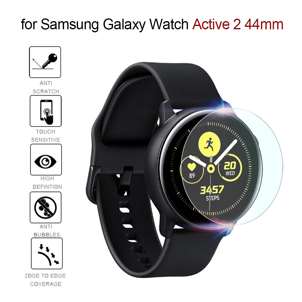Explosion-proof Film For Samsung Galaxy Watch Active 2 44mm Screen Protector De Pantalla Para Reloj Bubble Free Anti Scratch
