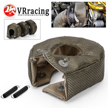 Vr-100% Full Titanium Turbo Hitteschild T3 Turbo Deken Fit: t2 T25 T28 Gt28 Gt30 Gt35 En Meest T3 Turbo VR1303-2T/TBF03(China)