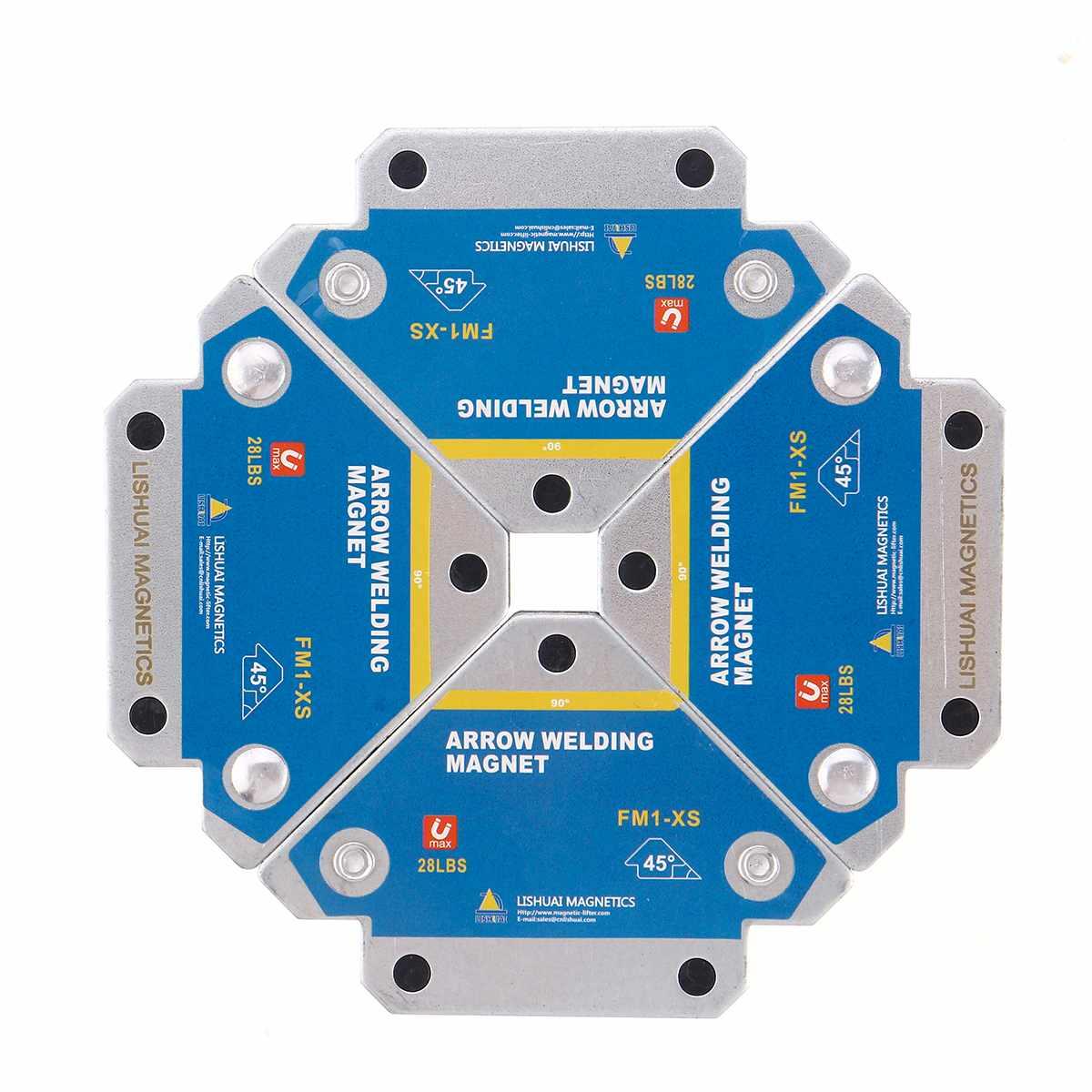 4PCS ריתוך מחזיקי ברזל ריתוך מיצוב מגנטי ריתוך Positioner מתקן פרייט מחזיק עזר איתור כלים