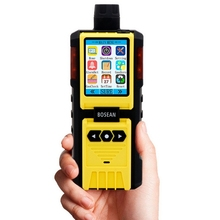 Bosean K-600 Portable 4 in 1 Multi Gas Air Monitor Handheld Gas Detector EX Oxygen Hydrothion Carbon Monoxide Combustible Gas An