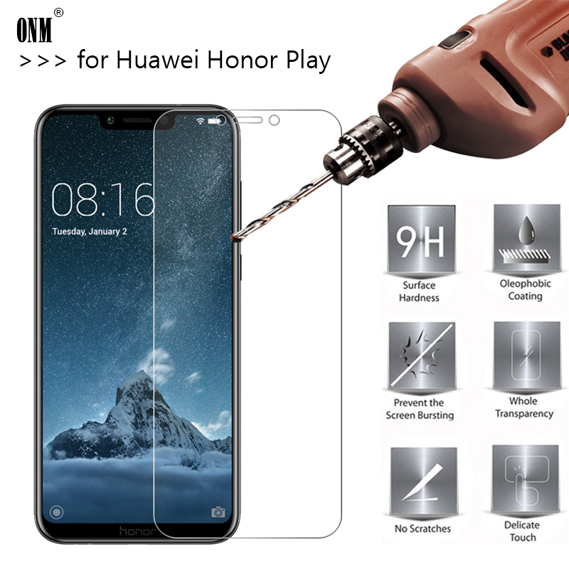 2.5D 0.26mm 9H Tempered Glass For Huawei Honor Play HonorPlay 6.3 Screen Protector Protective Film For Huawei Honor Play 6.3