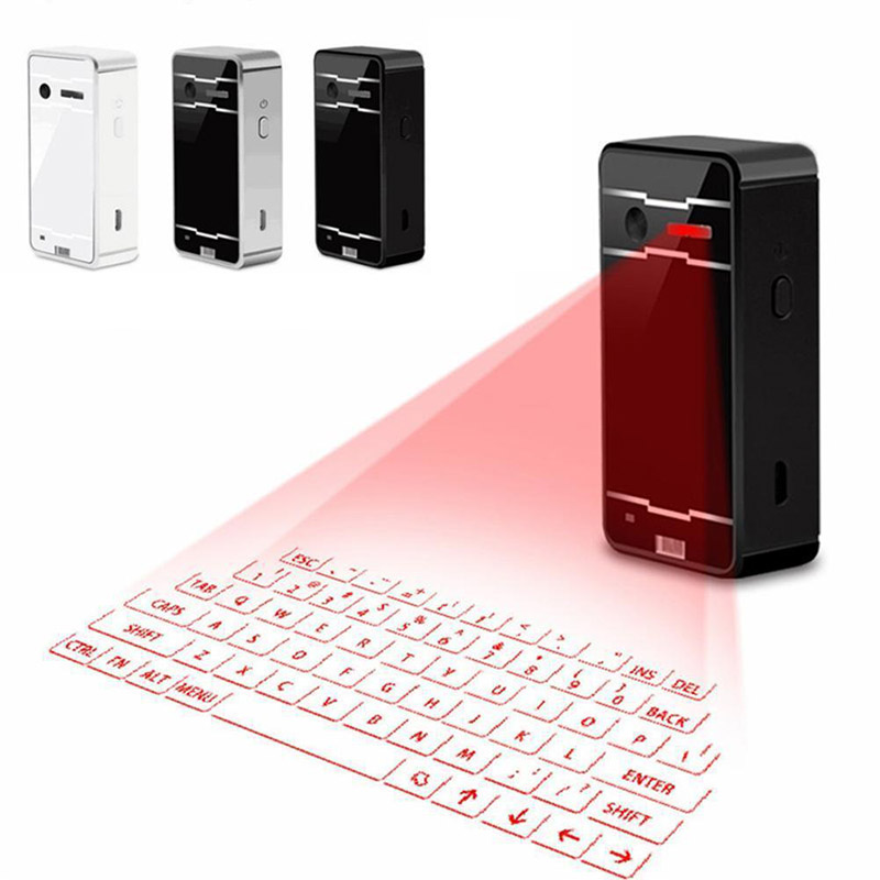 Portable Virtual Lasers Keyboard Mouse Wireless Bluetooth Lasers Projection Speaker GDeals