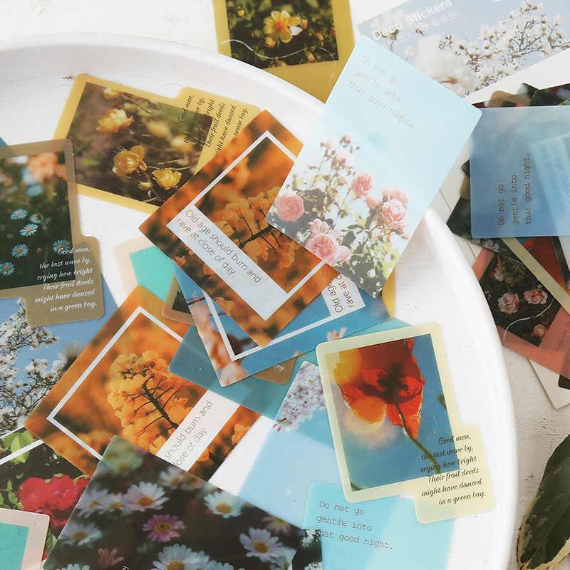 70St Travel Scenery Stickers Set Scrapbooking AufkleberJournal Planner DIY Craft
