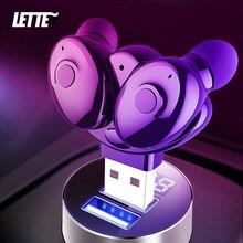 XG17 TWS Wireless Bluetooth 5.0หูฟังสเตอริโอแบบพกพาUSBชาร์จหูฟัง