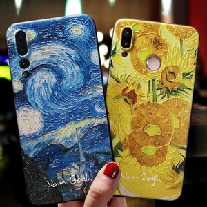 Art Case For Huawei Honor 20 20S Pro 10i 8X 9 10 Lite Case Cover For Huawei P20 P30 P40 P10 Lite Pro P Smart 2019 Phone Cases(China)