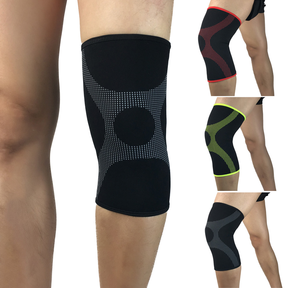 Elastic Compression Thigh Leg Sleeve Protection Sports Knee Pads Protective Gear