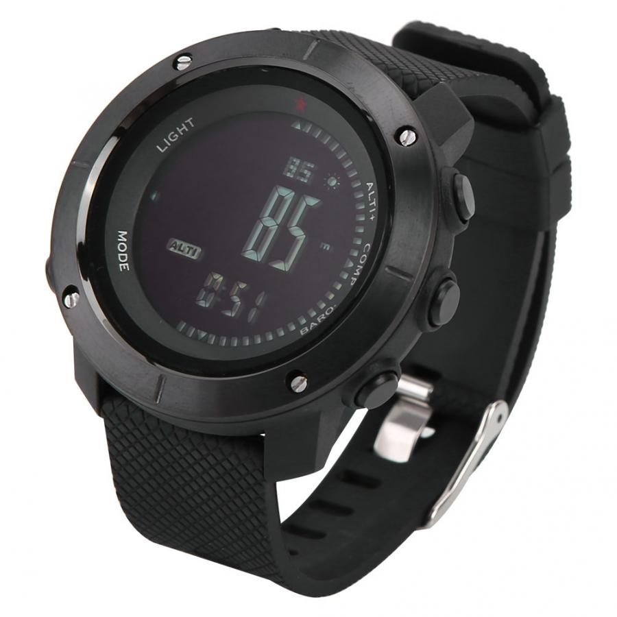 Outdoor Sports Watches Fashion Compass Altimeter Barometer Thermometer Digital Watch Men Hiking Wristwatches Outdoor Watches