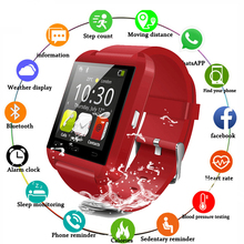 New U8 Smartwatch Bluetooth for IOS Android Smart Phone Sleep Monitor Fitness Tr