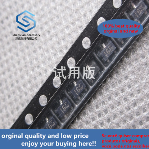50pcs 100% Orginal New DTA144EKA SOT-23 Silk Screen 16 PNP 50V 100mA SMD Transistor