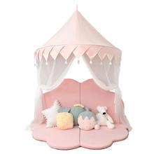 Детская палатка в скандинавском стиле Розовый Замок принцессы