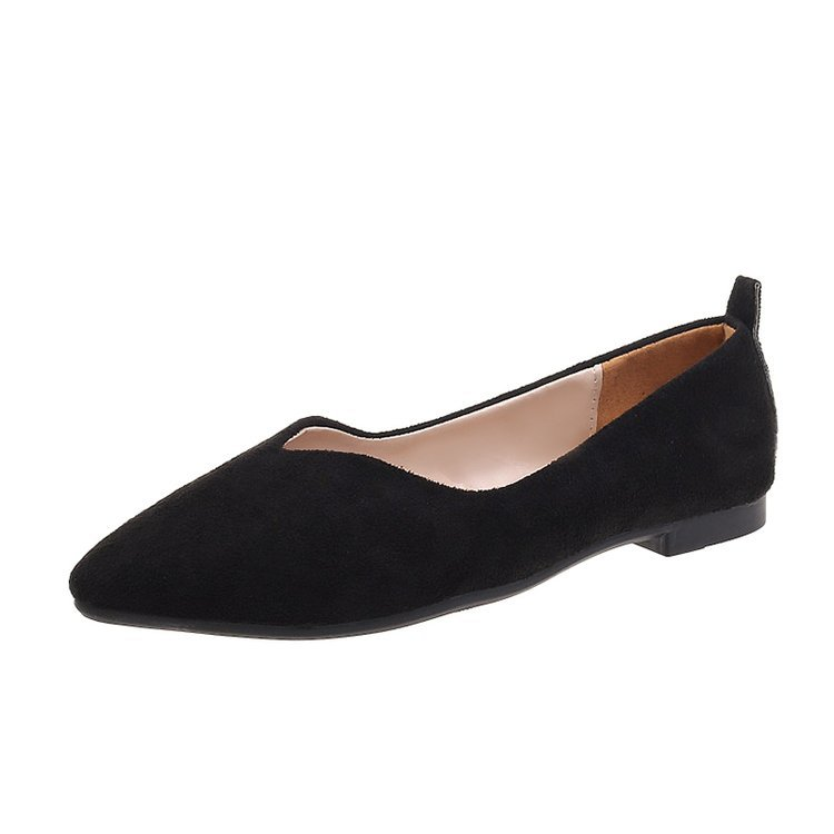 Women's Flats Pointed-Toe Autumn Classics Non-Slip Casual Solid All-Match 35-39
