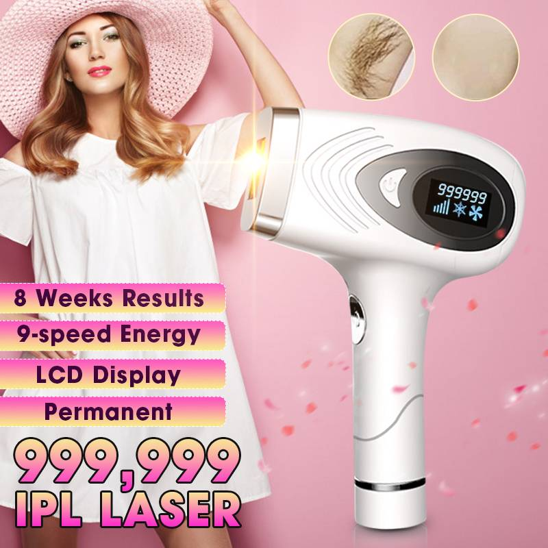 999999 Flash Depilador A Laser IPL Epilator Hair Removal Machine Instrument Permanent Depilador Device Freezing Point Painless