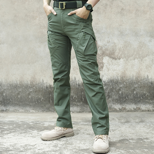 City Military Tactical Pants Men SWAT Combat Army Trousers Men Many Pockets Waterproof Wear Resistant Casual Cargo Pants 5XL 3