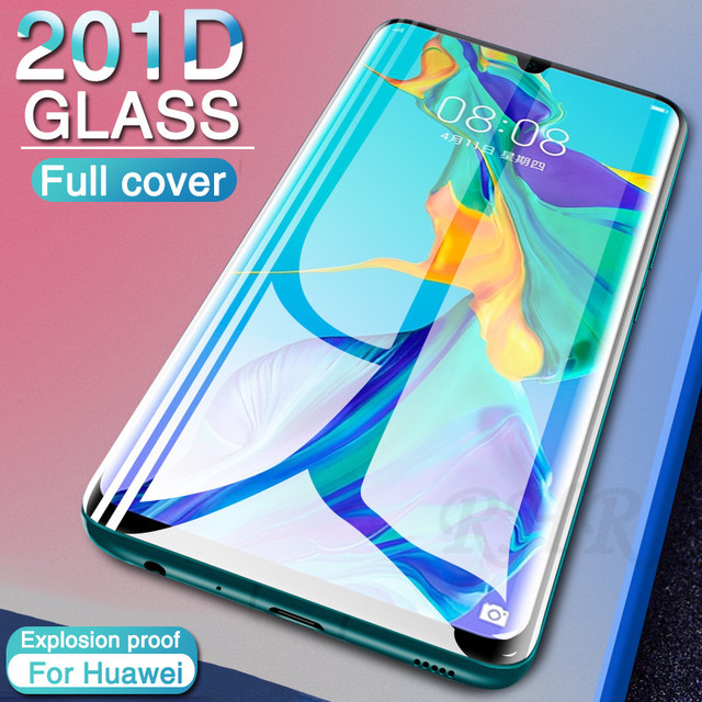 Protective Glass on For Huawei P30 Pro P20 Mate 20 Lite Tempered Glass on For Huawei Honor 8 Lite 9 10 V10 Screen Protector Film