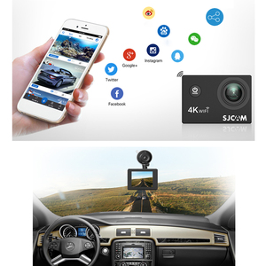 Image 5 - 2020NEW SJCAM SJ4000 AIR Action Camera Full HD Allwinner 4K 30FPS WIFI 2.0 ekran wodoodporny sport Mini kask samochodowy kamera DV
