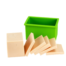 Rectangle Silicone Soap Mold Flexible Handmade Loaf Mould
