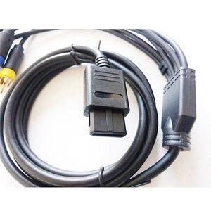 Image 3 - متعددة الوظائف RGB/RGBS مركب كابل الحبل ل SFC N64 NGC لعبة وحدة التحكم الملحقات مع استقرار قوي