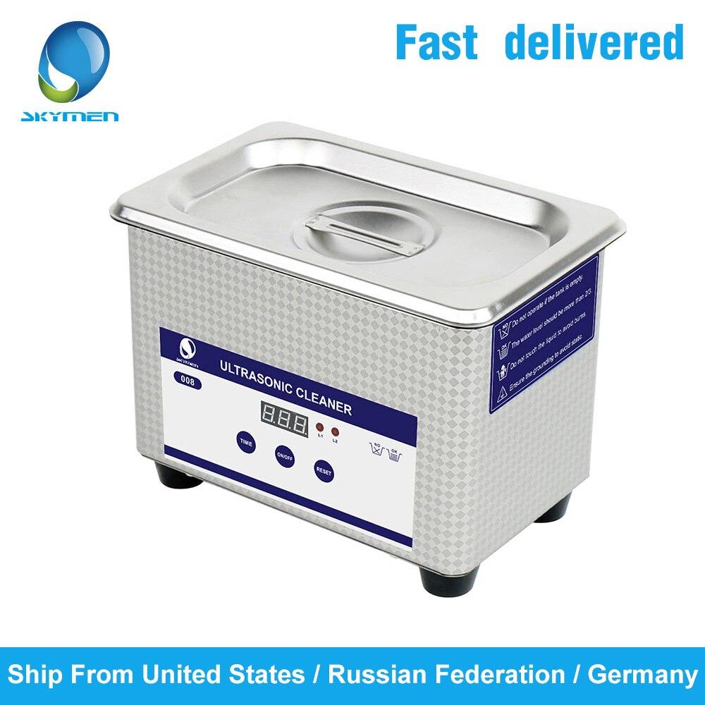 Bain nettoyeur à ultrasons Skymen 0.8L 2L 3.2L 4.5L 6.5L 10L 15L 22L 30L navire à ultrasons numérique d'allemagne, de russie. NOUS