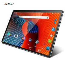 Yeni Tablet Pc 10.1 inç Android 10.0 Google 3G 4G telefon görüşmesi Tablet WiFi Bluetooth GPS temperli cam 10 inç Tablet