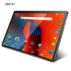 New Tablet Pc 10.1 inch Android 10.0 Google Play 3G 4G Phone Call Tablets WiFi Bluetooth GPS Tempered Glass 10 inch Tablet