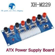 XH-M229 – Adaptateur d'alimentation pour châssis de bureau ATX, module sortie de terminal à 24 broches