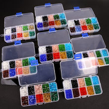 Wholesale 250/300/500/1000 Pcs/Set Colorful Crystal Beads Flat Tip Drop Shape Glass Beads For Jewelry Making(China)