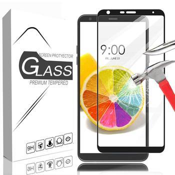 Перейти на Алиэкспресс и купить Полное покрытие для LG K30 2019 Aristo 4 Plus Journey LTE Escape Plus Tribute Royal LG Stylo 5 G7 защита для экрана из закаленного стекла