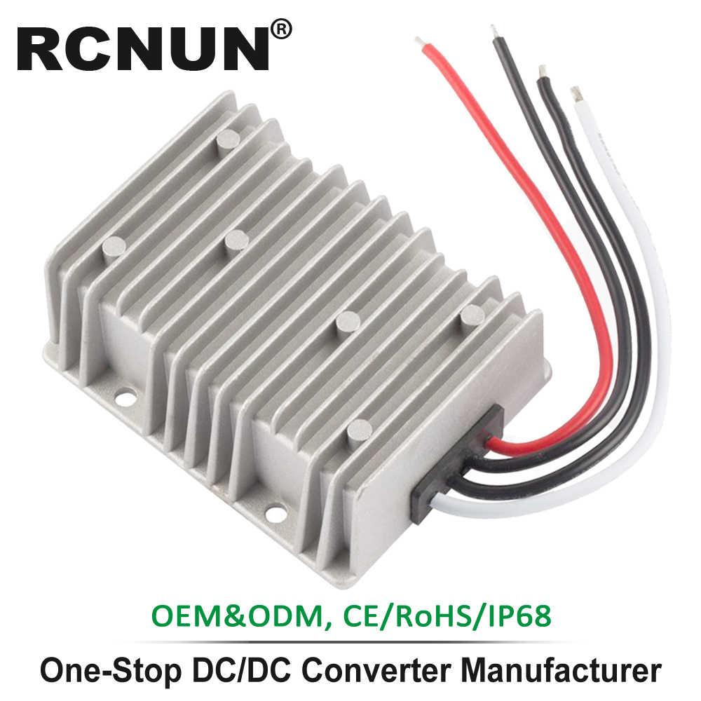 CNC Equipment Aeloa DC-DC Converter 24V to 12V High Efficiency Step Down Step Down Regulator 5A for Pumps