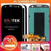 Reemplazo de pantalla para Samsung Galaxy S III S3 i9300 i9300i i9301 i9301i i9305 pantalla LCD Super AMOLED cristal digitalizador táctil