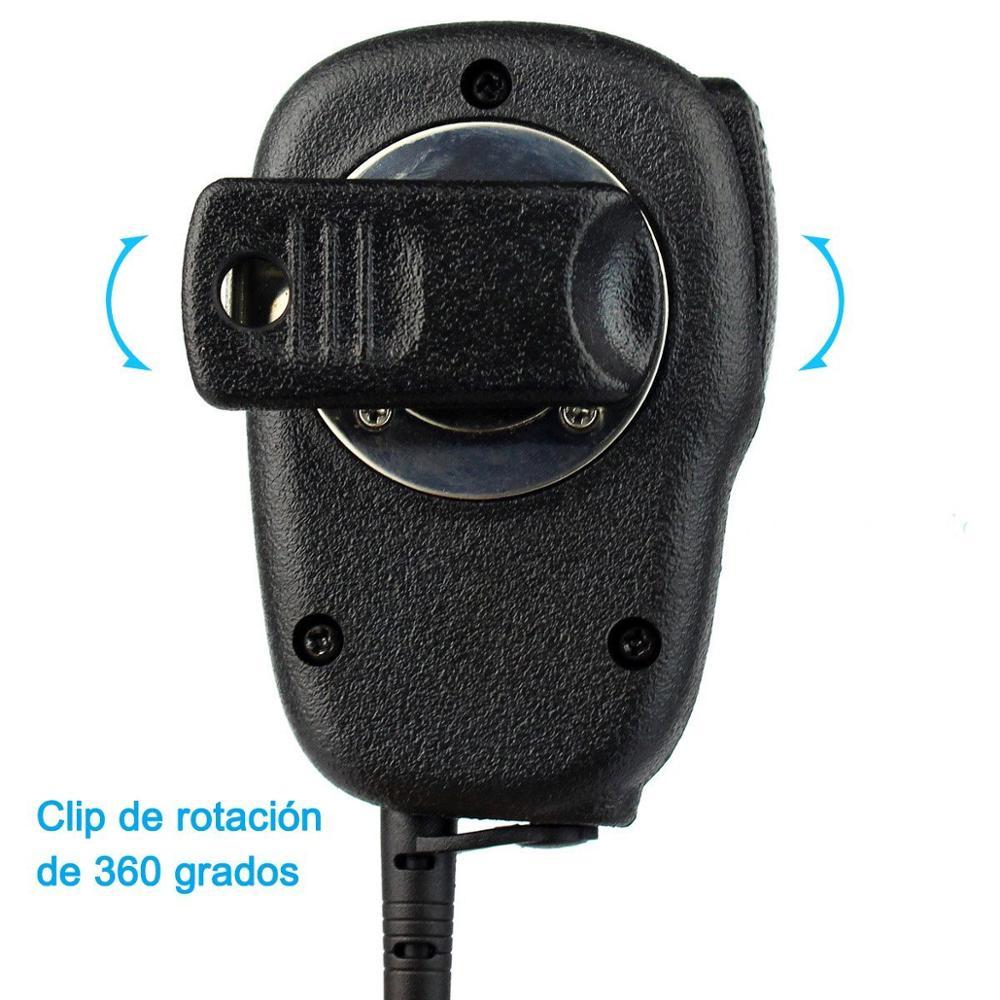 New 2pin Mini PTT Microphone R-312 For Motorola GP68/GP88/GP300/GP2000/CT150/P040/Pro1150/HYT TC-500/TC-600/TC-610